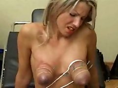 Blonde  Stuff and Electro Torture - Part 2 TG2Club